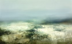 Crystal Passage by Neil Nelson - Original Painting on Box Canvas sized 45x28 inches. Available from Whitewall Galleries